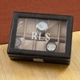 personalized mens leather watch case