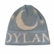personalized moon and stars hat