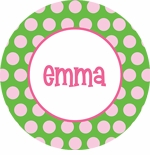 personalized name plate (style 2p)