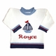 personalized nautical sailboat sweater