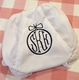 personalized ornament bloomers