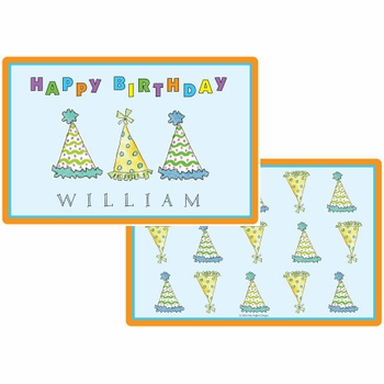 personalized placemat - birthday party