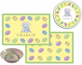 personalized placemat - happy easter