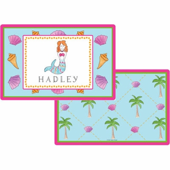 personalized placemat - little mermaid