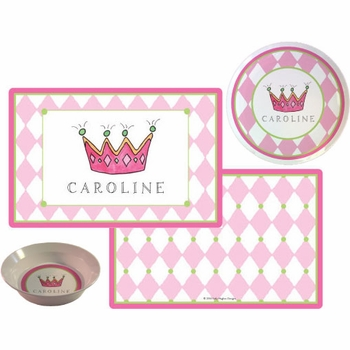 personalized placemat - little princess