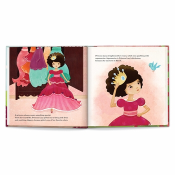 personalized princess book