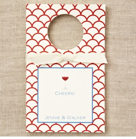 personalized red wine bottle tags