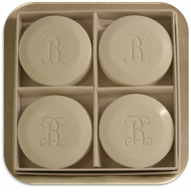 personalized round soaps