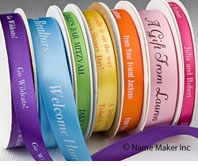 Personalized Satin Ribbons