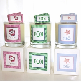 personalized scented candle 12oz