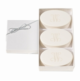 Personalized Signature Spa Soaps, Verbena Trio