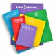 Personalized Skinny Primary Colors Note Pad
