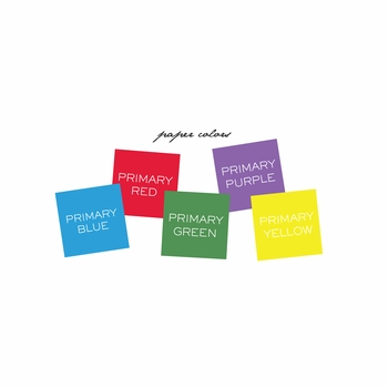 Personalized Small Primary Colors Note Pad