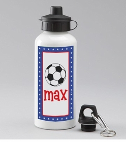 personalized soccer bottle for boys