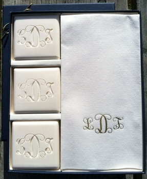 personalized spa soap (Oprah favorite)