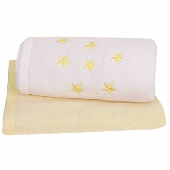 personalized stars baby blanket