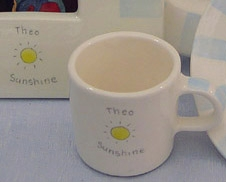"personalized ""sunshine"" cup"