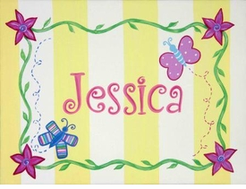 personalized sunshine splash wall art