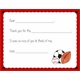 personalized thank you notes – sports fan fill-in thank you