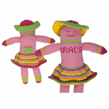personalized tooth fairy knit pal - gracie