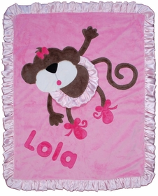 personalized twinkle toes blanket