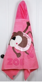 personalized twinkle toes towel