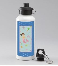 personalized underwater mermaid bottle