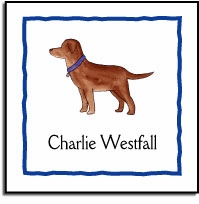 personalized vinyl labels � best friend