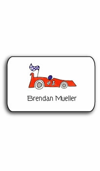 personalized stickers  – on your mark