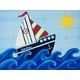 personalized wall art sailboat