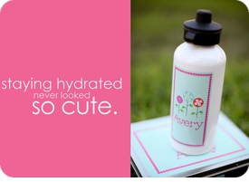 personalized water bottles for girls