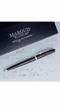 personalized waterford arcadia ballpoint pen