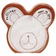 personalized white bear coin bank