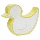 personalized white duck coin bank