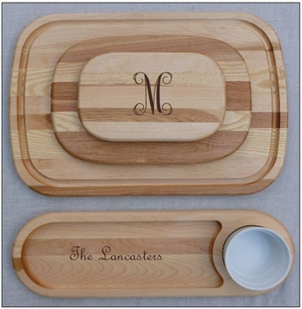 personalized wooden chopping board (medium)