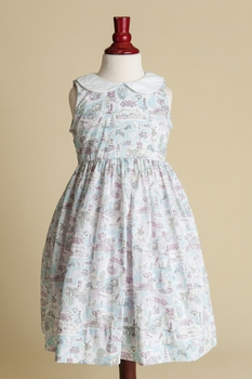 peter pan collared dress - summer holiday
