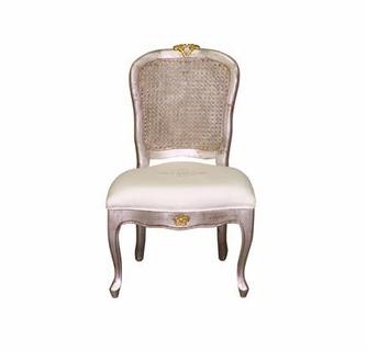 Miraculous Art For Kids Afk Petit French Chair Silver With Gold Creativecarmelina Interior Chair Design Creativecarmelinacom
