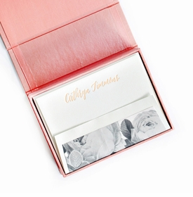 petite blush silk stationery box - p3