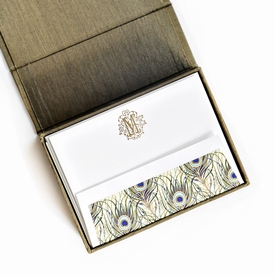 petite olive silk stationery box - p5