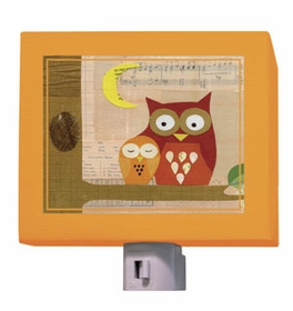 petite owls nightlight