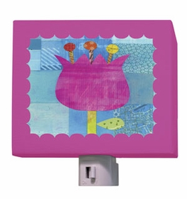 petite pink tulip nightlight