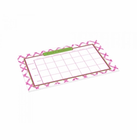 pink bamboo schedule pad