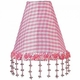 pink check pearl flower night light