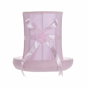 pink hat large lamp shade
