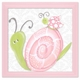 pink lady snail wall art