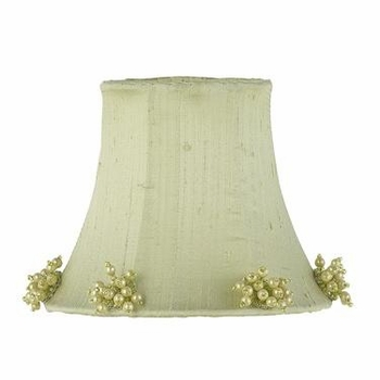 pink pearl burst chandelier shade