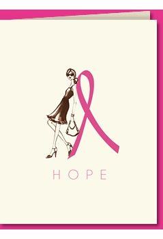 pink ribbon of hope - SOLD OUT