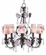 pink sconce shade