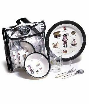 pirate lunch set by baby cie