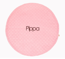 plain mary circle playmat (pink)